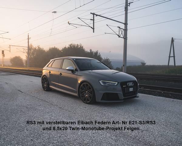 Bilde av Eibach Gewindfjærsett Audi A3 S3 + RS3 (Limousine+Sportback) , (
